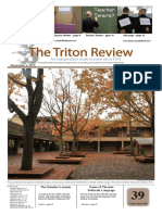 The Triton Review, Volume 31 Issue 3, Published November 3 2014