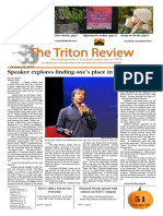 The Triton Review, Volume 31 Issue 2, Published October 20 2014
