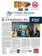 The Triton Review, Volume 31 Issue 7, Published February 17 2015