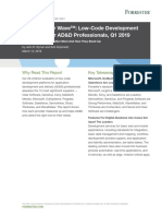 The Forrester Wave™_ Low-Code Development Platforms For AD&D Professionals, Q1 2019