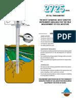 Tensiómetros Jet Fill Soilmoisture® 2011