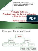 Pincipais Tipos de Fibas e Produção de Fibras - Aulas 5