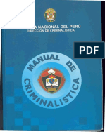 Manual de Criminalistica Perú.