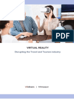VRdirect White Paper 2019 - Disrupting the Tourism Industry