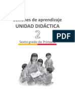 Documentos Primaria Sesiones Unidad02 Integradas SextoGrado UNIDA2 6to GENERAL