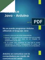S09.2 Interface Java - Arduino