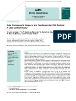 Male Androgenetic Alopecia and Cardiovascular Risk Factors