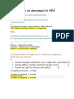 Evaluación de Desempeño VPA Respuestas