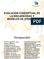 Evolucion Conceptual de La Discapacidad