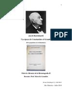 Parcial Historiografia 19.07 Jacob Burckhardt - La Era de Constantino el  Grande - 18.07.19 16.docx