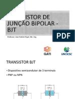 Transistor de Junção bipoar - TBJ