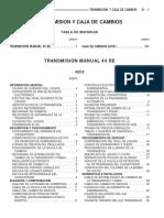 manual de mantenimiento a500