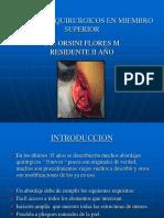 Abordajes Quirurgicos en Miembro Superior