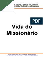 vida do missionario
