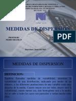 Medidas de Disperción