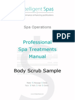 Intelligentspas Professional Spa Treatments Manual Body Scrub Sample