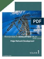 TDP 2016-2040 Consultation Draft Volume 1 Major Network Development-2018-04!06!09!03!56 (1)