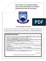 Analista de Tecnologia Da Informacao - Desenvolvimento