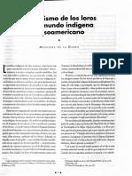 Simbolismo de Los Loros en El Mundo Indigena Mesoamericano (1)
