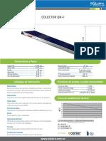 Especificacion Colector QR-F