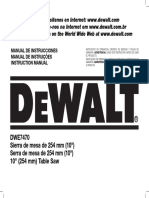 DWE7470 Instruction Manual