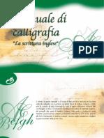 Manuale Calligrafia Itália