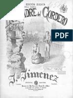 La Madre Del Cordero Música Notada (1)