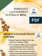 31375025 Performance Management System at BSNL