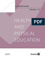 2019 Health Physical Education Grades 1to8