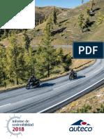 Informe Sostenibilidad Auteco 2018