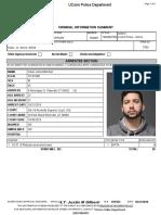UConn Criminal Information Summary