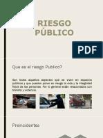 Capacitacion en Riesgo Publico y Seguridad Vial