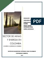 Sector de Minas y Energia