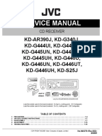 JVC Car Stereo Manual