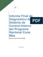 Informe Final Diagnostico Sistema Control Programa Nacional Cuna Mas