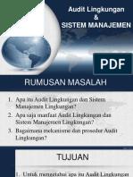 AUDIT LINGKUNGAN & SISTEM MANAJEMEN [Autosaved].pptx
