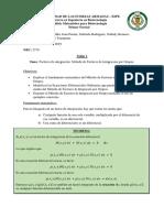 Método de Integracion de Factores Por Grupos