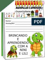 Caderno de Atividades Da Nini e Lili Tartarugas