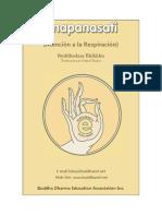 anapanasati Atencion a la Respiracion.pdf