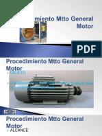 Procedimiento Mtto Motor