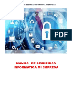 Manual de Seguridad Informatica Mi Empresa