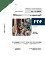 e&p - Procedimientos Para Contraste de Medidores (Inyeccion de Carga)