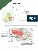 analisis de la ciudad de Avila
