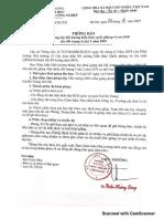 Thông Báo Khai Giảng Lớp Bồi Dưỡng Kiến Thức QP-An Cho Đối Tượng 4, Đợt 2 Năm 2019