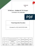 221359345-Visual-Inspection-Procedure-0222-160-P-PT-PTJ-0008.doc