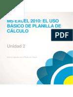 EXCEL 2010 BÁSICO