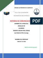 Practica 2 Comunicaciones RF