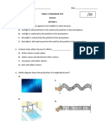 SUMNATIVE TEST SOUND WAVES, LIGHT, ENERGY