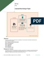 12.4.1.2 Lab - Isolate Compromised Host Using 5-Tuple