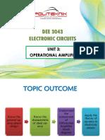 3.0 Operational Amplifier